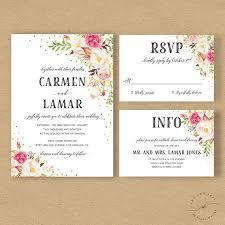 52 best etsy finds images on wedding invitation suite