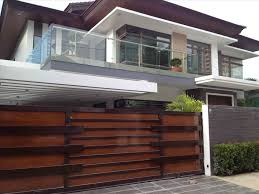 Modern Fence Modern Fence Backyard Fence Ideas