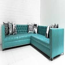 Turquoise Leather Sofa Turquoise Leather Sectional Sofa Hereo Sofa