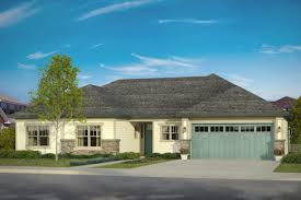 Hip Roof House Plans by Prairie Style House Plans Lexington 30 989 Associated Designs