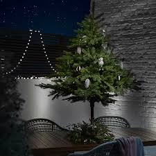 Prelit Outdoor Christmas Trees Best Artificial Christmas Trees To Light Up The Festive Season