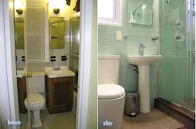small bathroom remodel ideas withal before and after renovation in