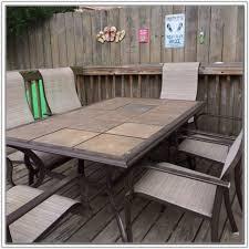 Patio Table Tile Top Ceramic Tile Outdoor Patio Table Tiles Home Design Ideas