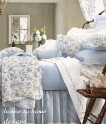 Pottery Barn Toile Bedding Toile Quilt Set Open Travel