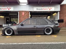 peugeot 309 widebody autos pinterest peugeot