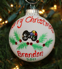 personalized ornament for your teen or husband u0027s favorite hobby