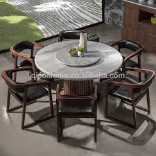 round marble kitchen table modern round granite marble dining table and chairs set with