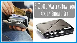Technology And Gadgets 5 Cool Wallets That You Really Should See New Inventions And
