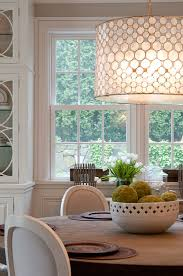 shell drum shade chandelier simplified bee