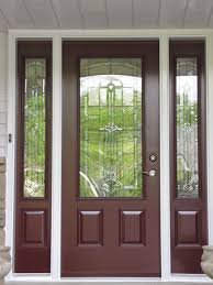 wood glass front doors steel entry door with glass choice image glass door interior