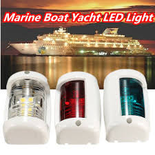 boat navigation light kit boat led navigation lights kit 3 nav light package port starboard