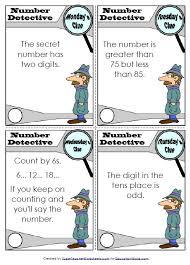 education world super teachers number detective worksheet