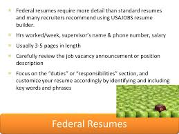 Usajobs Online Resume Builder by How To Apply For Federal Jobs The Career Center Colorado State