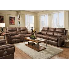 allure living room reclining sofa u0026 console loveseat