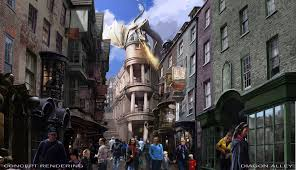 Universal Studios Orlando Interactive Map by Universal Orlando Releases New Details On The Harry Potter Diagon