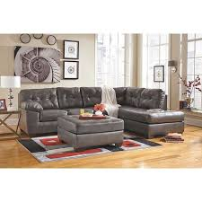 Sectional Gray Sofa Alliston Gray 2pc Sectional W Raf Chaise 0n2 201rc 2pc