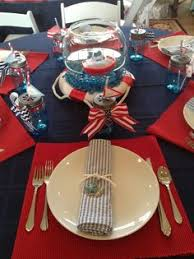 Nautical Table Decorations Nautical Themed Baby Shower Table Decorations 1000 Ideas About