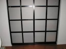 shoji style sliding closet doors from scratch door kits