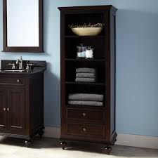 furniture cherry wood linen cabinet floor towel cabinet oak