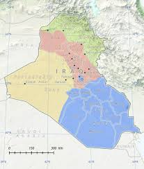 Rowan Map Predicting The Shape Of Iraq U0027s Next Sunni Insurgencies Combating