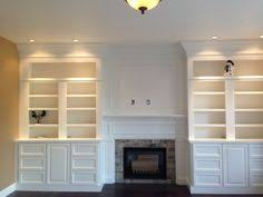 Built In Bookshelves Fireplace by Bookcases Around Fireplace Family Room Bookshelves Around