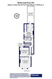 Grandeur 8 Floor Plan 2 Bedroom Property For Sale In Marlborough Road London N22