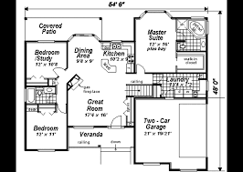 3 home plans ranch style house plan 3 beds 2 00 baths 1511 sq ft plan 18 1057