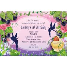 free tinkerbell invitation templates fairy dust personalized
