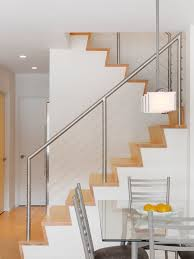 stair railing kits staircase contemporary with cable railing