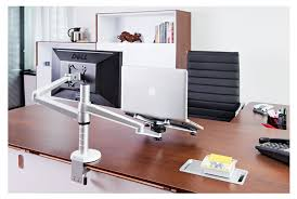 Desk Mount Laptop Stand 2018 Portable Laptop Stand Adjustable Desktop Computer Monitor
