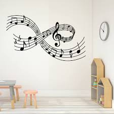 music notes decorations promotion shop for promotional music notes dctop musical notes wall art sticker creative design removable vinyl wall stickers home decor living room decorative