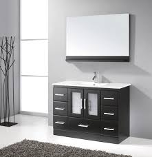 Cheap Bathroom Vanities With Tops by 48 Inch Bathroom Vanity With Top And Sink One Sink Bathroom