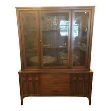 Antique German Display Cabinet Vintage U0026 Used Mid Century Modern China And Display Cabinets