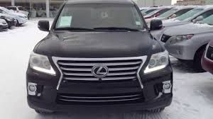 lexus lx 570 black interior lexus certified pre owned black 2013 lx 570 4wd ultra premium