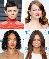hairstyles for triangle shaped face find the perfect cut for your face shape instyle com