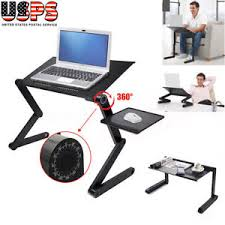 Laptop Desk Bed Black 360 Adjustable Folding Laptop Table Desk Bed Computer