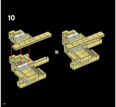 falling water floor plan lego fallingwater instructions 21005 architecture