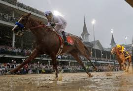 how far can a horse travel in a day images Justify wins kentucky derby conquering rain mud and a 136 year jpg