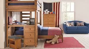 How To Make A Bunk Bed With Desk Underneath by Rooms To Go Kids