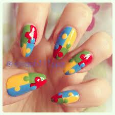 autism awareness nail art liqueur new pineapple nails thanks to
