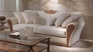 divani per salotti divano imbottito in legno per salotti lussuosi idfdesign