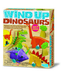 amazon com 4m wind up dinosaurs kit toys u0026 games