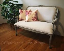 Restoration Hardware Settee How To Reupholster A Dated Settee Restoration Hardware Style