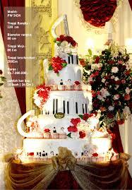 wedding cake jakarta murah gallery koleksi wedding cake dari pelangi cake jakarta