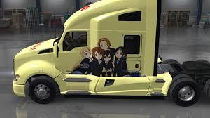 kenworth k series k on paintjob universal mod american truck simulator mod