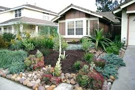 Garden State Rocks Sun Front Yard Landscaping Drought Resistant Front Yard Using