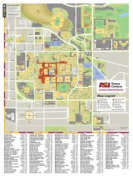 Valley Metro Map by Asu Map Tempe Current Arizona State University Sports