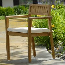 Patio Stack Chairs Outdoor Patio Modern Stacking Chair Pari
