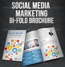 social media brochure template social media marketing bi fold brochure social media marketing