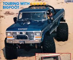 1979 bigfoot monster truck vintage picture thread warning 56k picture loadin u0027 death